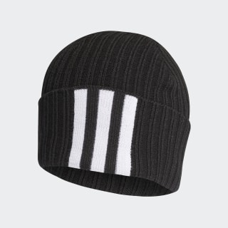3-Stripes Beanie Black / White / Black DZ8925