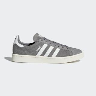Zapatilla Campus Grey Three / Footwear White / Chalk White BZ0085