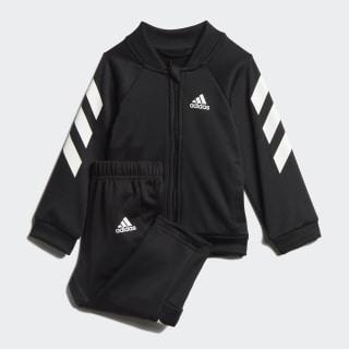 Mini Me Track Suit Black / White ED1174