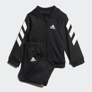 Спортивный костюм Mini Me black / white ED1174
