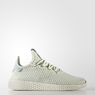 Pharrell Williams Tennis Hu Shoes Linen Green / Linen Green / Cloud White CP9806