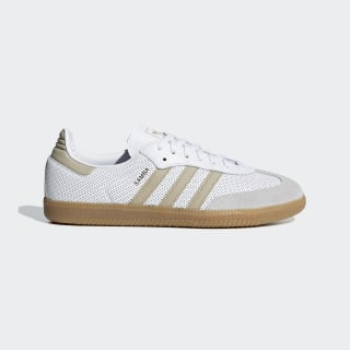 Samba OG Shoes Ftwr White / Raw Gold / Grey One BD7544