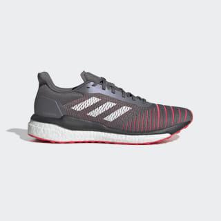 Zapatillas Solar Drive grey four f17 / ftwr white / shock red D97450