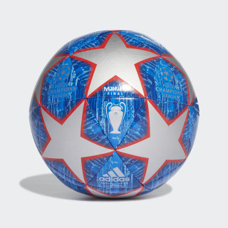 UCL Finale Madrid Capitano Ball Silver Met. / Bold Blue / Football Blue / Light Blue DN8678