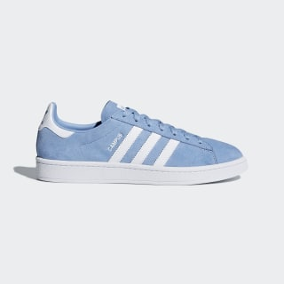 Campus Shoes Ash Blue / Cloud White / Cloud White DB0983
