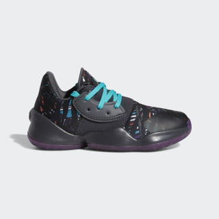 Harden Vol. 4 Shoes Core Black / Amber Tint / Grey Six EF9945