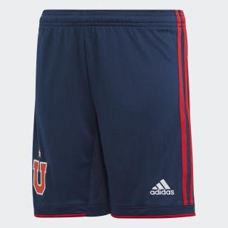 Shorts de Local Universidad de Chile Niño collegiate navy / power red DP2642