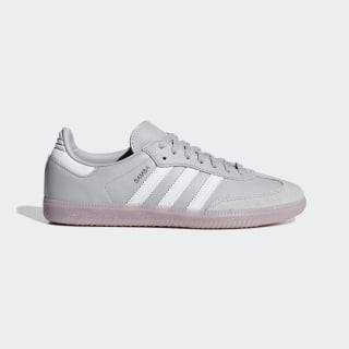 Zapatilla Samba OG grey two f17 / ftwr white / soft vision CG6112