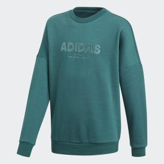 All Caps Sweatshirt Noble Green / Pantone / Black DJ1768