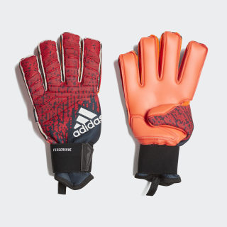 Вратарские перчатки Predator Pro Fingersave active red / black / solar red DN8584
