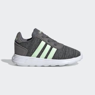 Tênis Lite Racer Grey Four / Glow Green / Core Black EE6972