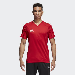 Camiseta de fútbol Tiro 17 POWER RED/BLACK/WHITE BQ2810