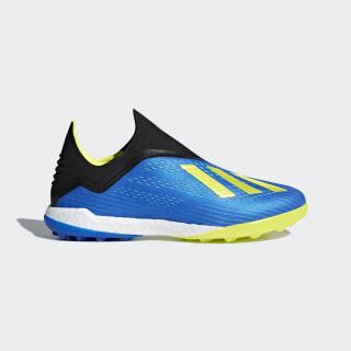 X Tango 18+ Turf Shoes Football Blue / Solar Yellow / Core Black BB6595