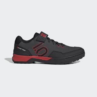 Five Ten Kestrel Lace Mountain Bike Shoes Carbon / Core Black / Red BC0637