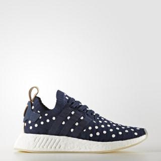 Chaussure NMD_R2 Primeknit Collegiate Navy/Footwear White BA7560