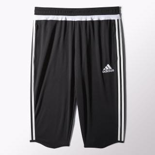 Pantalón de tres cuartos Tiro 15 Black / White / Black M64027