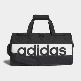 Linear Performance Duffel Bag Small Black/Black/White S99954