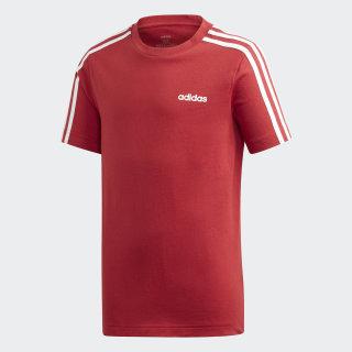 Camiseta 3 Rayas Essentials Active Maroon / White EI7983