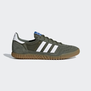 Indoor Super Shoes Base Green / Cloud White / Gum B41524