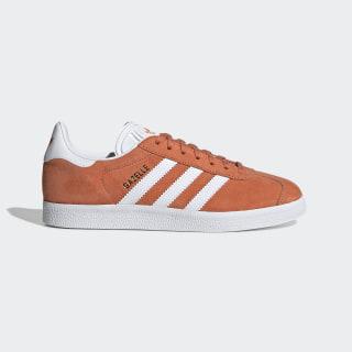 Gazelle Shoes Semi Coral / Cloud White / Gold Metallic EE5538