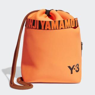Y-3 Drawstring Backpack Solar Orange FS2368