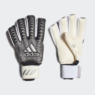 Вратарские перчатки Classic Pro Fingersave white / black / silver met. FH7299