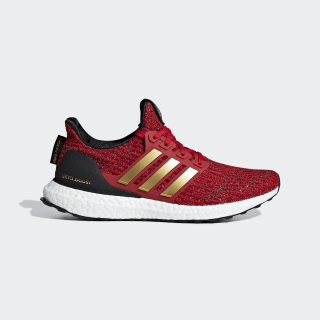 adidas x Game of Thrones House Lannister Ultraboost Shoes Scarlet / Gold Metallic / Core Black EE3710