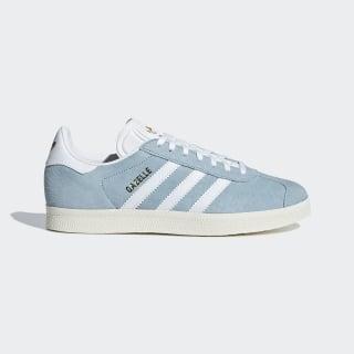 Zapatillas Gazelle ash grey s18 / ftwr white / chalk white CG6061