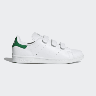 Stan Smith Shoes Cloud White / Cloud White / Green S75187