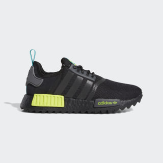 NMD_R1 Trail Shoes Core Black / Real Blue / Semi Solar Yellow FV2466