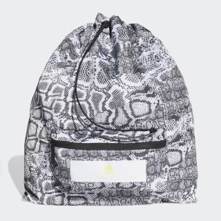 Mochila saco Black / White / Frozen Yellow FJ9331