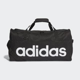 Linear Duffle Bag Medium Black / Black / White AJ9923