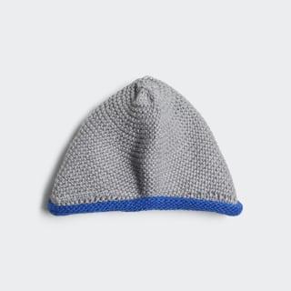Beanie Medium Grey Heather / Blue / White DM5539
