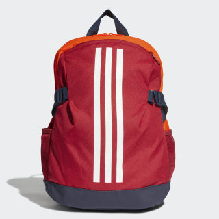 Power Backpack 4 Small Active Maroon / Solar Orange / White ED8611