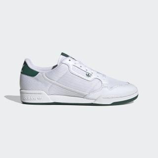Continental 80 Schuh Cloud White / Grey One / Collegiate Green EF5995
