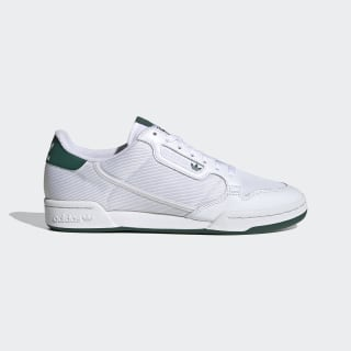 Continental 80 Shoes Cloud White / Grey One / Collegiate Green EF5995