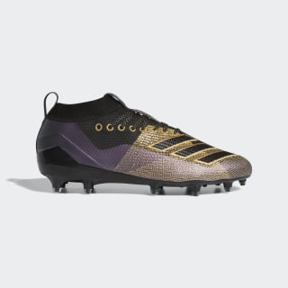 Adizero 8.0 Cleats Core Black / Gold Metallic / Grey Six D97650