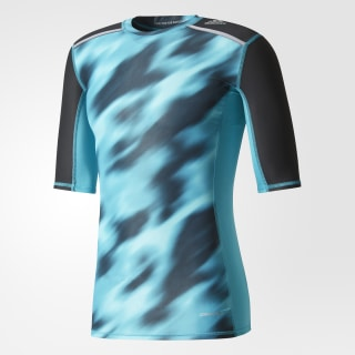 Playera Techfit Chill Graphic Energy Blue BK3551