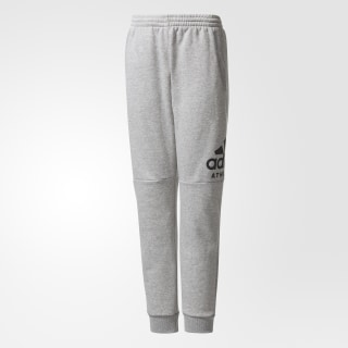 Pants Sport ID MEDIUM GREY HEATHER/BLACK CF2457