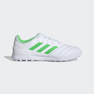 Copa 19.3 Turf Boots Cloud White / Solar Lime / Cloud White D98064
