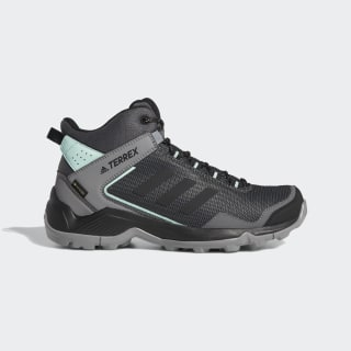 Terrex Eastrail Mid Gore-Tex Hiking Shoes Grey Four / Core Black / Clear Mint F36762