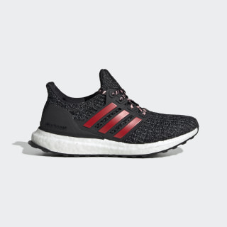 Ultraboost Shoes Core Black / Grey / Clear Orange F34718