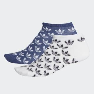 Trefoil Liner Socken, 2 Paar Sky Tint / White FM0680