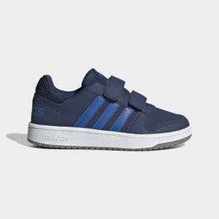Hoops 2.0 Shoes Dark Blue / Blue / Grey Three EE9000