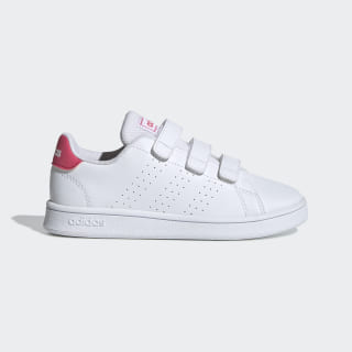 Advantage Schuh Cloud White / Real Pink / Cloud White EF0221