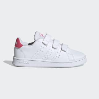 Advantage Shoes Cloud White / Real Pink / Cloud White EF0221