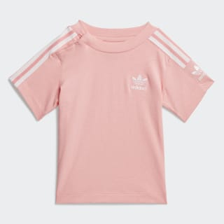 New Icon Tee Glory Pink / White FM5602