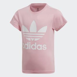 Camiseta Trefoil Light Pink / White DV2861