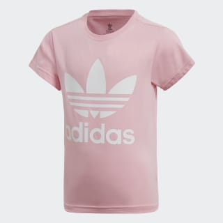 Camiseta Trifolio Light Pink / White DV2861