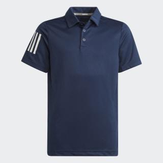 3-Stripes Polo Shirt Collegiate Navy FI8674
